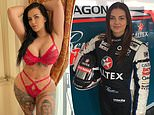 OnlyFans star Renee Gracie is criticised by V8 Supercars organisers over 'publicity stunt' return