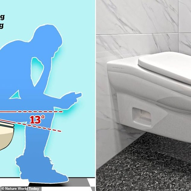 Hostile environment! A British startup Standard Toilet designed a new facility with a slanted seat to make it uncomfortable for people to sit on it for too long, thus cutting down on bathroom breaks