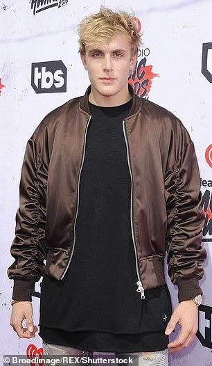 Paul attending theiHeart Radio Music Awards in 2016