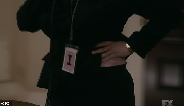 Flash: In a flashback, Lewinsky inadvertently shows her underwear to the president