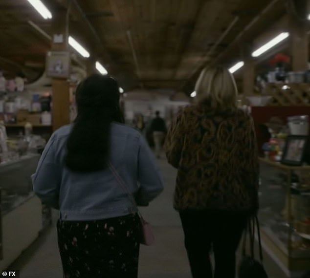 Antiquing:Later, Tripp takes Lewinsky, antiquing where Lewinsky admits she feels she is 'depriving' herself
