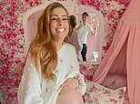 Pregnant Stacey Solomon shows off her growing baby bump