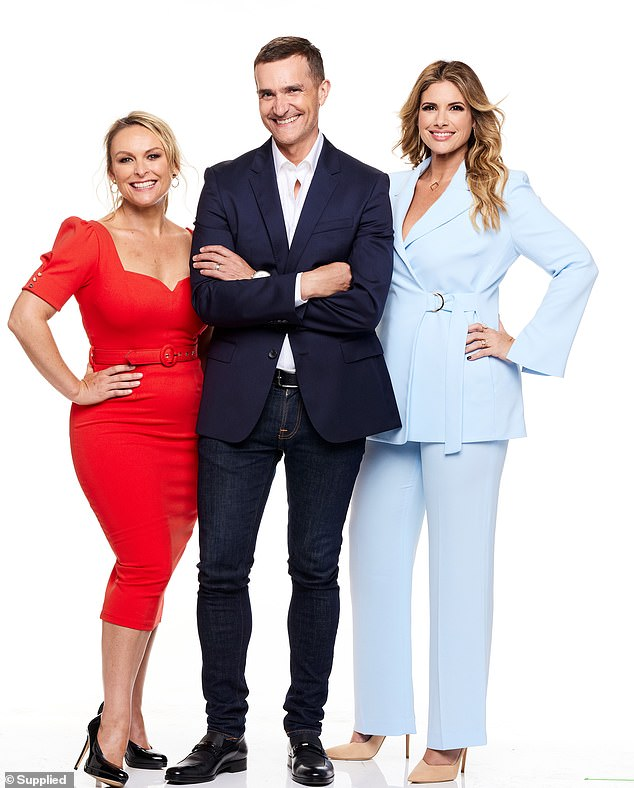 It's back! Channel Nine has confirmed Married At First Sight will be returning in 2022. Pictured L-R experts: Mel Schilling, John Aiken andAlessandra Rampolla