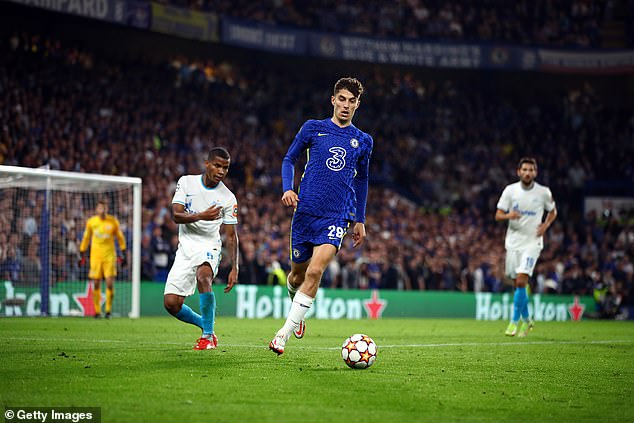 Tuchel also praised Chelsea's Kai Havertz for getting the right spot on the pitch