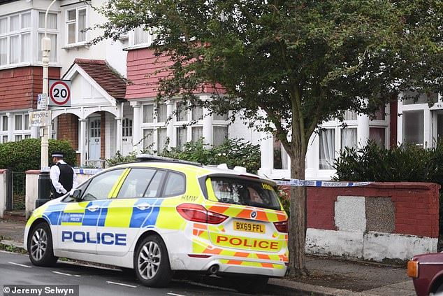 Police were called to the property at 12.56pm on Tuesday after concerns for the occupants inside