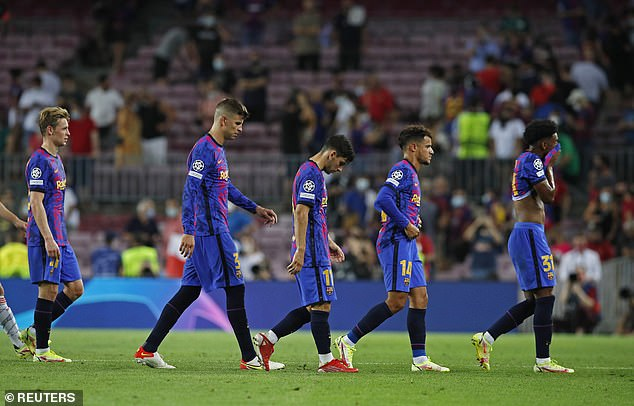 Barcelona were outclassed and embarrassed on their own patch by Bayern on Tuesday night