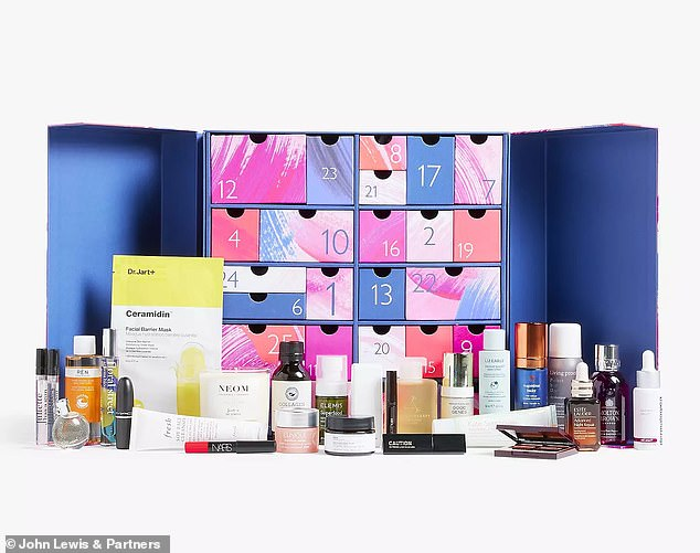 The John Lewis Beauty Advent Calendar 2021 is decidedly eclectic — it includes 26 premium must-haves, including 12 full-size products