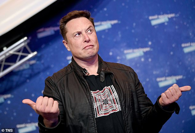 Is there life, Elon, but not as we know it? This is the question on Twitter's lips in the wake of a post by SpaceX CEO Elon Musk (pictured) about the existence of alien spacecraft