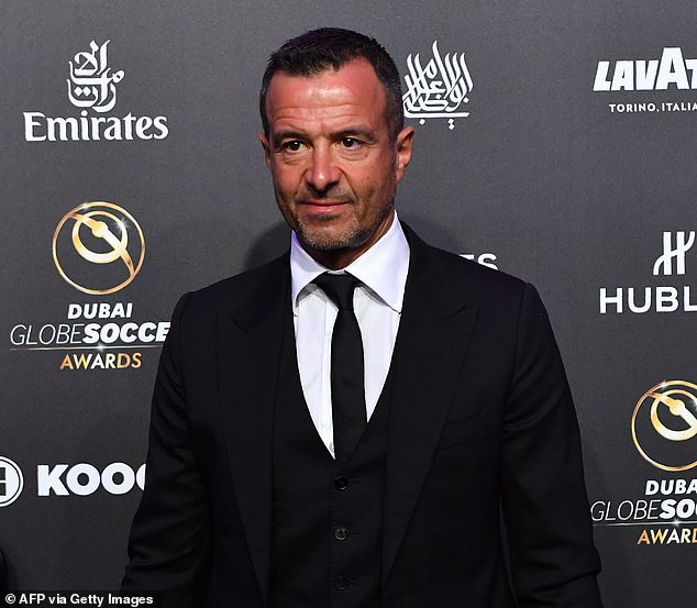 He said Ronaldo's agent Jorge Mendes had visited Manchester City to discuss a possible deal