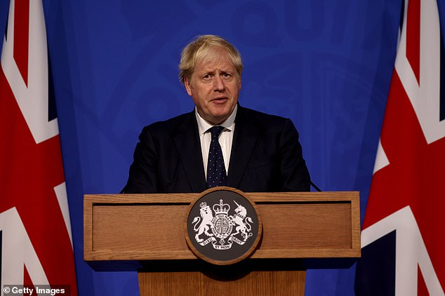 Boris Johnson left Work from Home Guidance in July.  But at last night's Downing Street press conference (pictured) he warned it could be brought back this winter