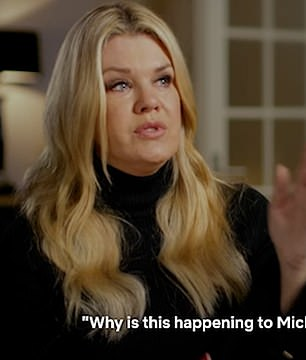Holding back tears on the Netflix documentary, Corinna said 'Why is this happening Michael'