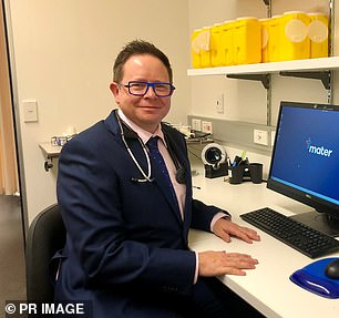 Pictured:Infectious disease expert Professor Paul Griffin