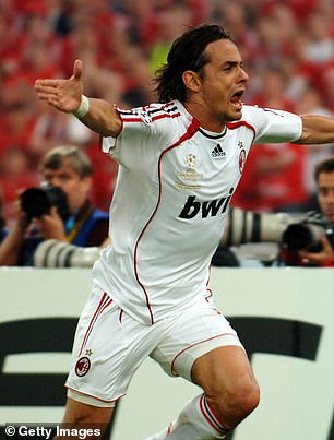 Inzaghi was named man-of-the-match in the final after playing the deciding role