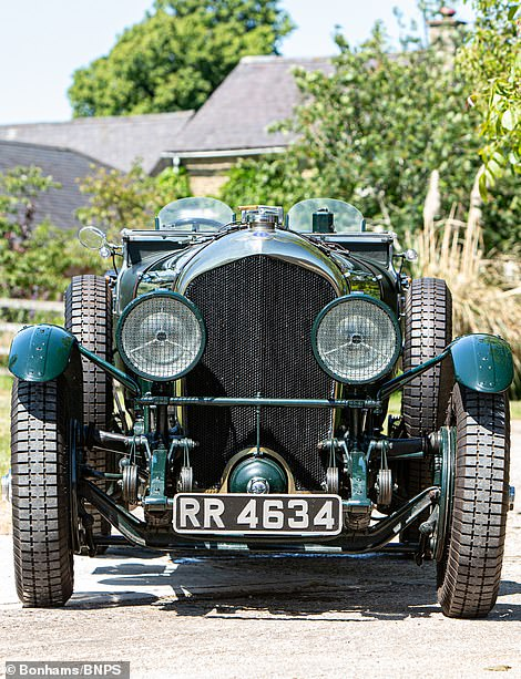Steve O'Rourke owned the classic Bentley in 1980 before selling it in 1984