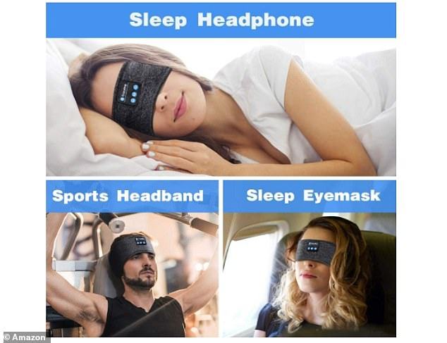 The HANPURE Bluetooth Headband allow you to listen to music without having to wear additional headphones