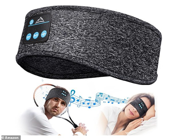The HANPURE Bluetooth Headband has embedded speakers that offer the ultimate comfort for bedtime listening - and it's now on sale for £16.14