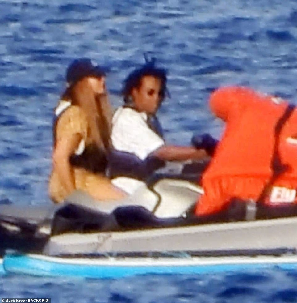 Good times: Beyoncé and Jay-Z were still madly in love on Wednesday as they continued their Mediterranean vacation in the south of France