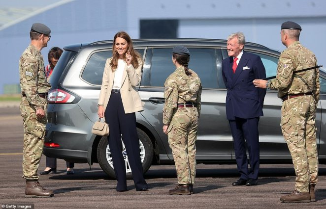 Kate will chat today to those who took part in Operation Pitting, which saw more than 15,000 people airlifted out of Kabul