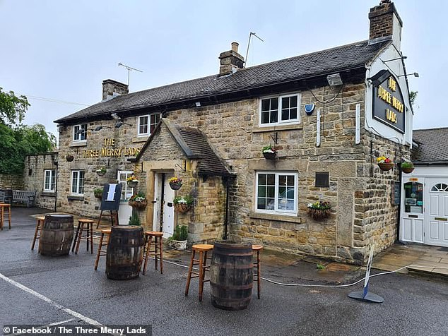 The owner of the dog, Chester, who lives above the pub, told the reddit forum that the pup would often climb up to take in the surroundings