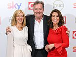 TRIC Awards 2021: Piers Morgan reunites with former GMB co-presenters