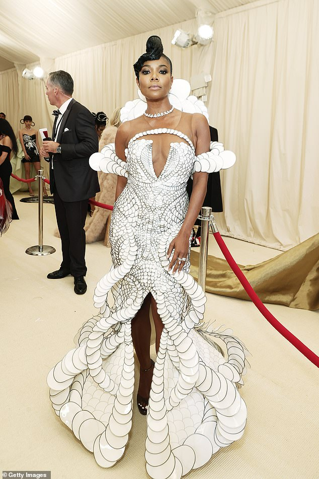 Incredible: Union at the The 2021 Met Gala Celebrating In America: A Lexicon Of Fashion at Metropolitan Museum of Art on Monday in New York City