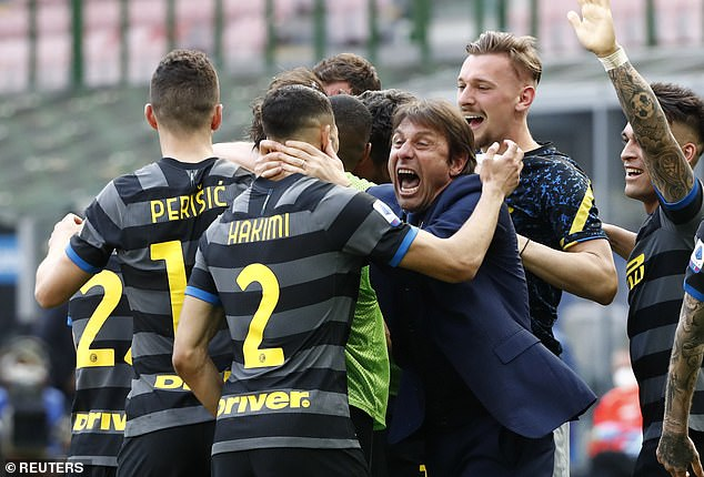 The 52-year-old Italian is currently out of work after leading Inter to the Serie A title last season
