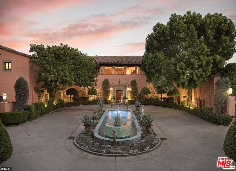 The 29,000-square-foot Spanish-style home was initially listed for the asking price of $195million