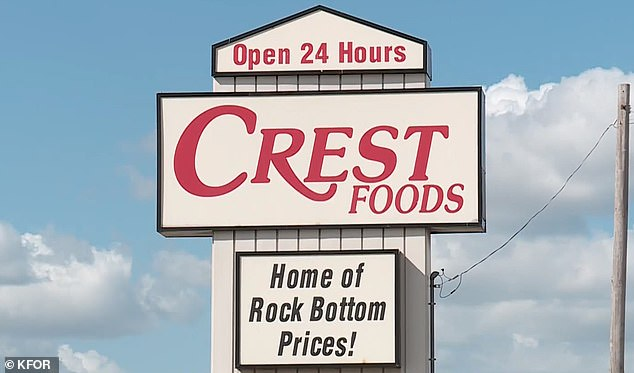 Wright-Johnson says Crest's corporate offices offered her steaks to make up for the disgusting experience