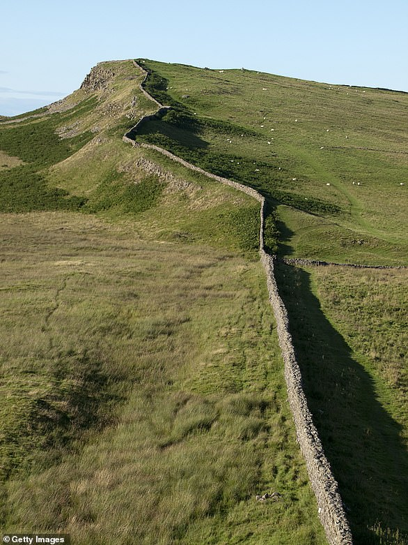 73 miles from coast to coast, Hadrian's Wall was built to protect the north-western frontier of the Roman Empire in Britain
