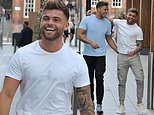 Love Island's Jake Cornish goes for lunch with Brad McClelland in Manchester