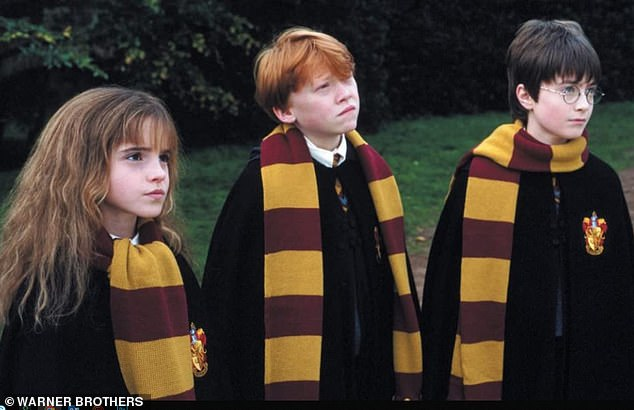 Enchanting:Back in January the outlet reported that HBO Max were working on a live-action Harry Potter television series. Stars Emma Watson, Rupert Grint, and Daniel Radcliffe are seen above
