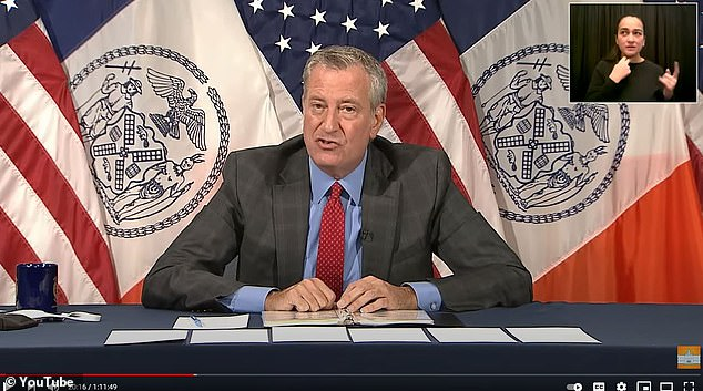 The crackdown took place a day after Mayor Bill de Blasio unveiled a plan to address problems at Rikers Island and punish AWOL corrections officers