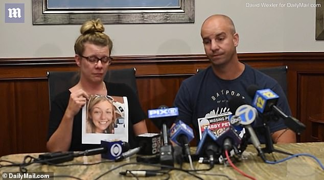 Petito's mother Nicole Schmidt (left) and stepfather James Schmidt (right) are desperate for answers. Now, James has set off to Wyoming to track his stepdaughter down
