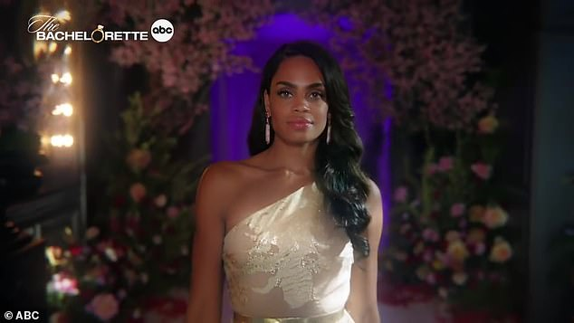 Young at heart: Bachelorette Michelle Young's season began shooting in late July and is set to premiere Tuesday, October 19th
