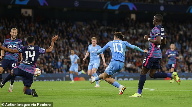 Grealish curled home a brilliant solo effort to put City 4-2 up on the night, winning 6-3 overall