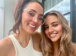 Snezana Wood, 41, look incredibly youthful as she poses with her lookalike daughter Eve