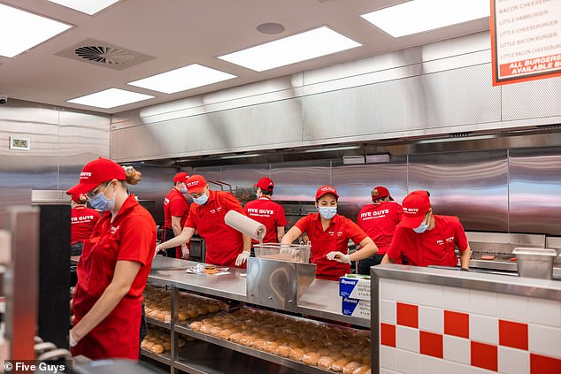 Decades after Five Guys first opened, there are locations across North America, Europe, the Middle East and Asia, and in Australia, with planned expansion into New Zealand