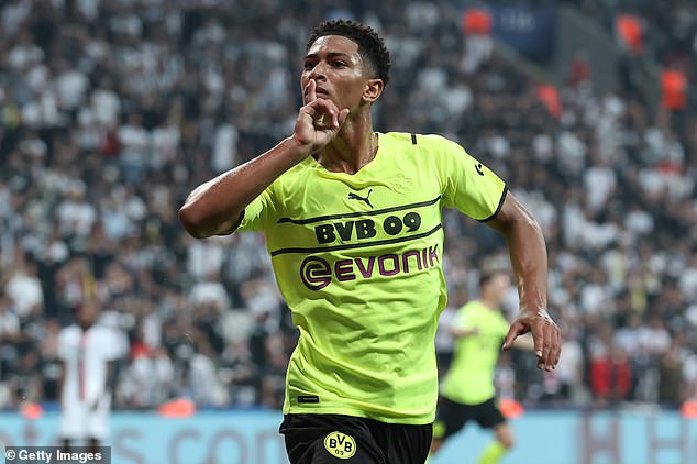 Bellingham was inspirational in Borussia Dortmund's 2-1 win at Besiktas, scoring the first goal