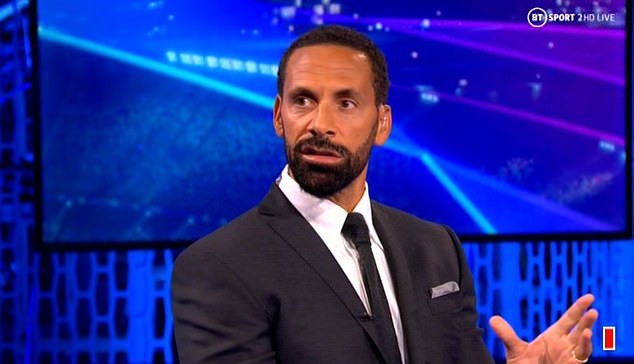Ferdinand gave his opinion after Ronaldo's display in Manchester United's loss at Young Boys