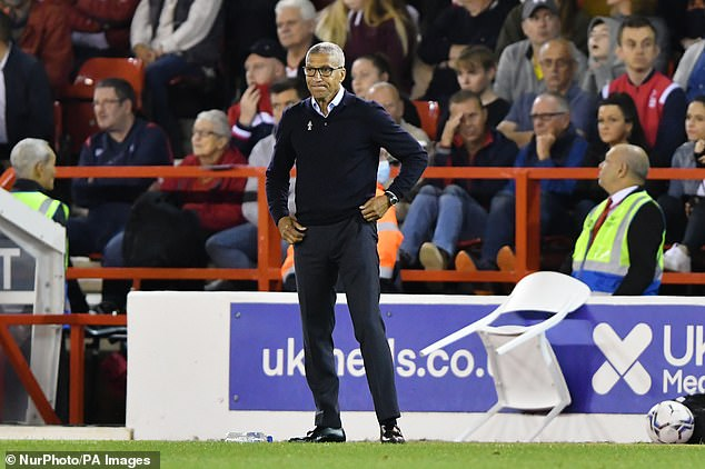 Chris Hughton has been sacked by Nottingham Forest following their defeat by Middlesbrough