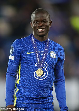 Kante helped Chelsea win the UEFA Super Cup last month
