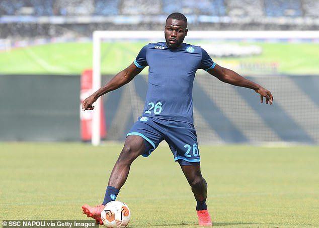 The Red Devils reportedly offered Napoli€35million (£30m) for the Senegalese defender