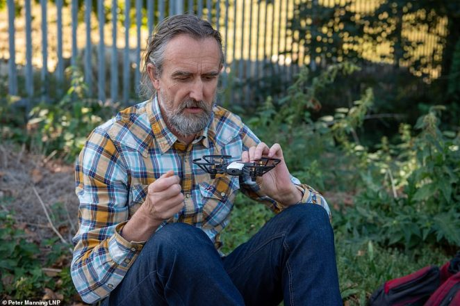 Mastermind: Organic farmer and activist Roger Hallam, 55, who helped found Extinction Rebellion