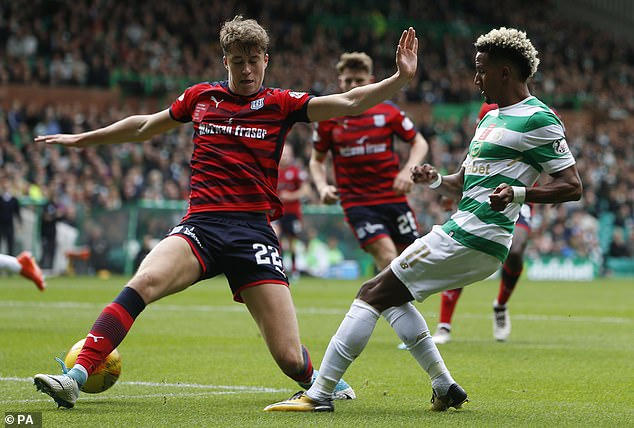 The Glaswegian tasted regular first-team football for the first time at Dundee in 2017