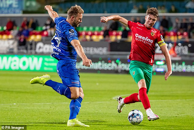 Hendry had an outstanding season for Oostende, captain the Belgian minnows to fifth place