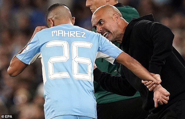 Guardiola has never been afraid of giving his players a public dressing down during games