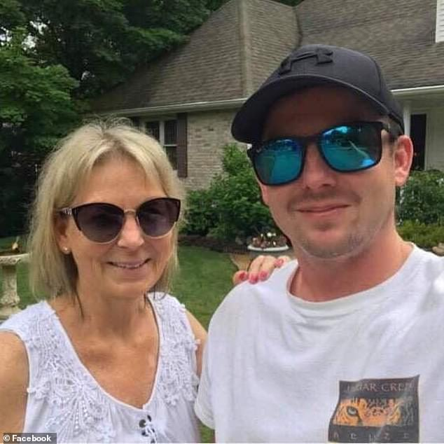 Ayers's son Marc (above) was among family members who blamed the unvaccinated in his mother's obituary