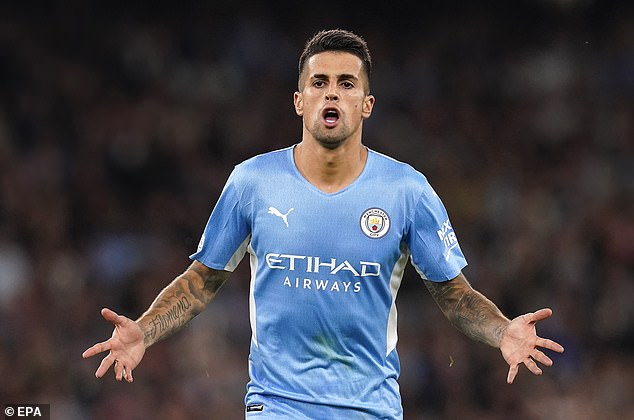 Joao Cancelo scored a stunning goal as Manchester City ran riot against RB Leipzig