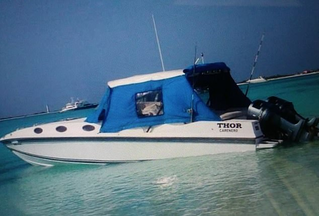 The family left Higuerote in their native Venezuela for the uninhabited Caribbean island of La Tortuga aboard the vessel Thor de Higuerote, an Intermarine 229 leisure boat
