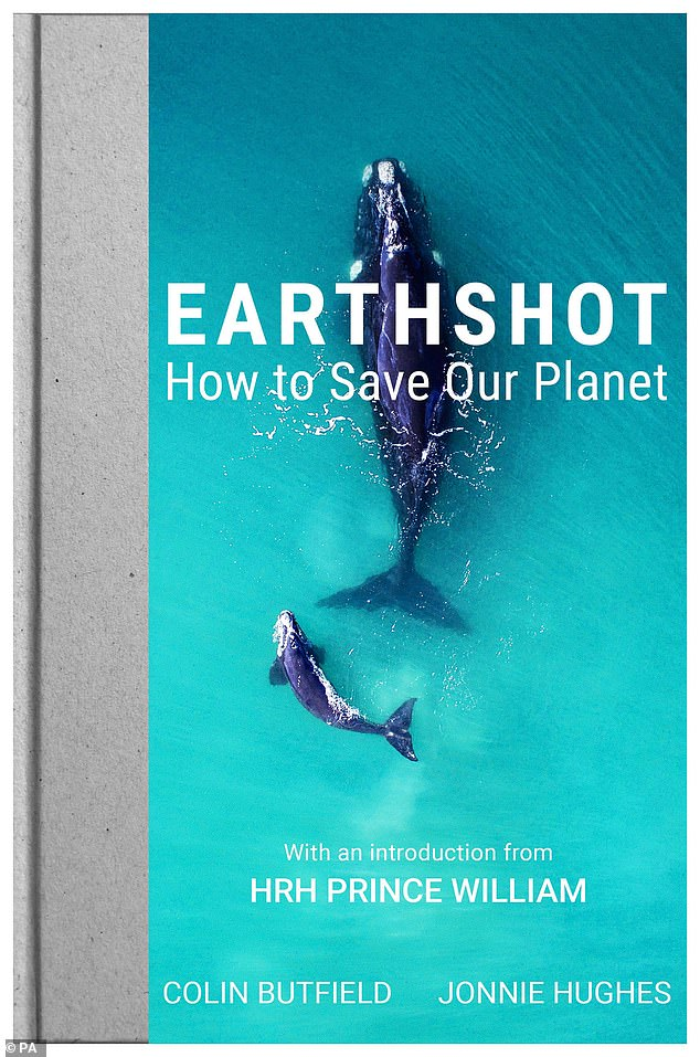 He made the remarks in the foreword to a new book (above) accompanying his landmark £50million Earthshot Prize, the royal sounds a rare note of optimism